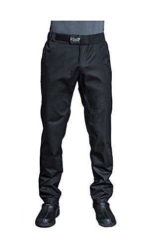 FUGA Mens Culinary Chef Pants Food Service Pants with I-Belt by Clement Design (T1 – US 30-32) by Clement Design