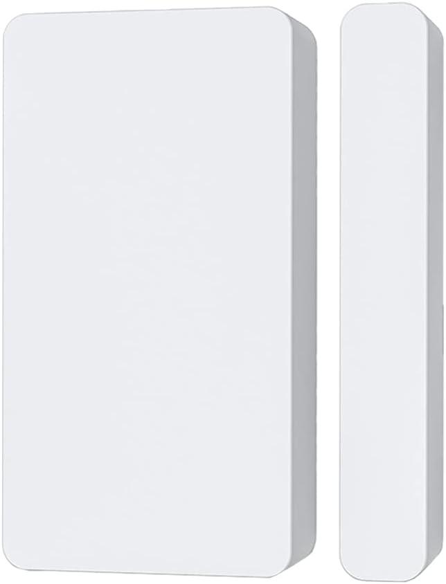 OSALADI Door Sensor Detector Smart Wireless Window Sensor Alarm with Phone Notification for Home Security Alert Switch Open Reminder No Battery