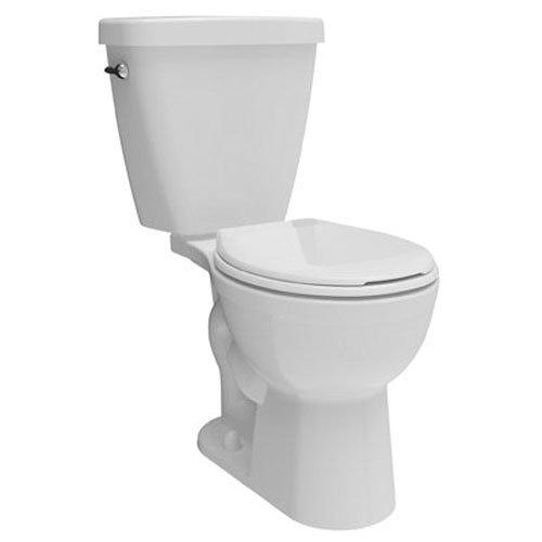 Delta Faucet C41101-WH Prelude44; 2 Piece - White Round Fron