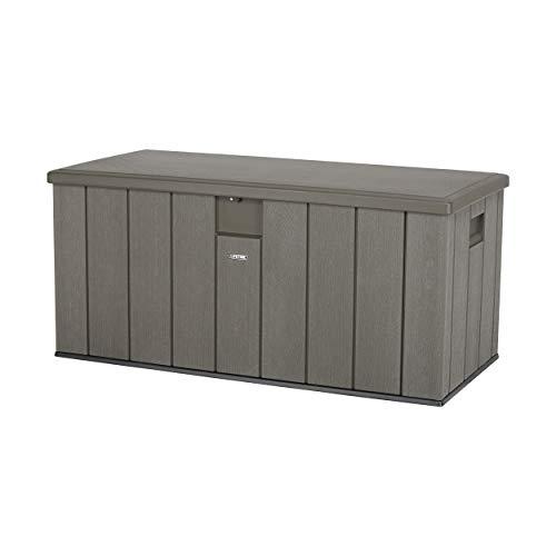 - Lifetime 60215 Heavy-Duty Outdoor Storage Deck Box, 150 Gallon