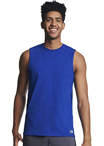 (Russell Athletic Men's Essential Muscle T-Shirt,Royal,XX-Large)