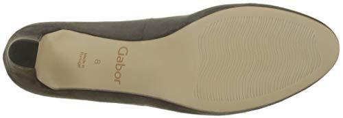 Escarpins grey Fashion Gabor Femme Gabor 49 Dark Gris Shoes qwzx0t