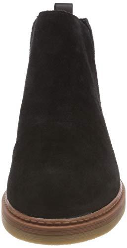 Black Femme Clarks Dove Madeline Noir Chelsea Bottes Sde SIvUIxY