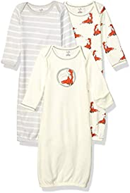 Touched by Nature Baby-Boys Organic Cotton Gowns