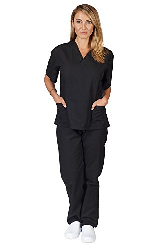 Women's Scrub Set, Assorted Colors, XXS-5X, Plus Sizes Available