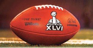 NFL Superbowl Super Bowl XLVI 46 Indianapolis 2012 Wilson The Duke Official Game - Indianapolis 2012 Super Bowl