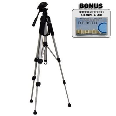 """Deluxe Pro 57"""" Camera Tripod with Carrying CaseFor The Sony HDR-TG5V HD Handycam Camcorder"""