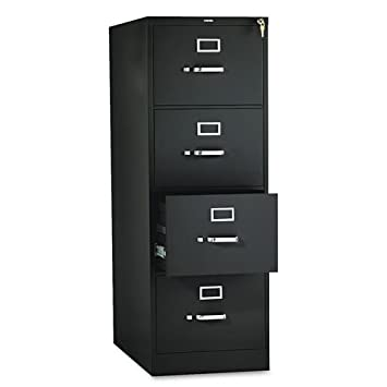 HON 4-Drawer Legal File - Full-Suspension Filing Cabinet, 26-1