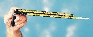 Taylor Sling Psychrometer - 1328-PJ - Sling Psychrometer, Permacolor-Filled Thermometer - Sling Psychrometer - Each