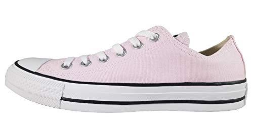 (Converse Unisex Chuck Taylor All Star Seasonal 2019 Low Top Sneaker, Pink Foam, Men's 6 M US / Women's 8 M US)