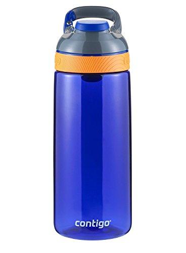 Contigo Auto Seal Courtney Kids Water Bottle, 20-Ounce, Oxford Blue
