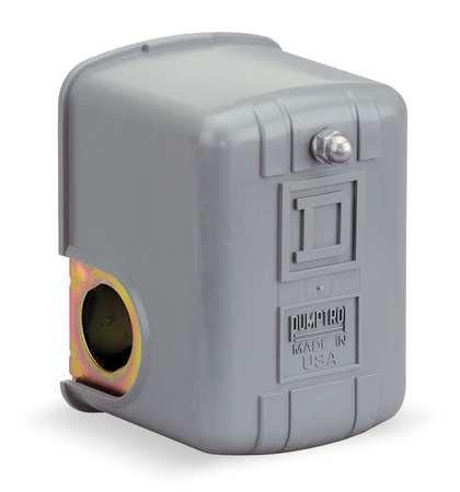 Pressure Switch, Diaphragm, Dpst, 50/70 Psi