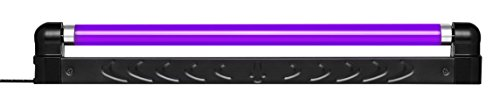 MARQ BL-18P | Lightweight & Durable Plastic Flourescent Blacklight UV Fixture (18 Inches) -