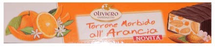 Oliviero Torrone Morbido all' Arancia - 5.3 oz - Pack of 4 by Oliviero