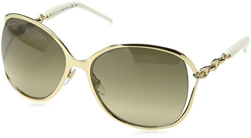 Gucci Women's GG 4250/S Gold/Brown - Sunglasses Chain Gucci