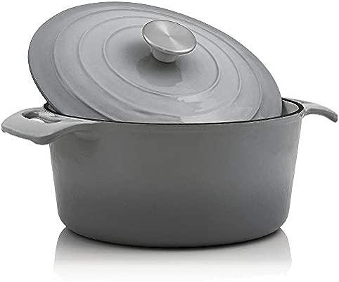 BBQ-Toro - Cocotte I 4,0 litros I Ø 24 cm I Olla con tapa y ...