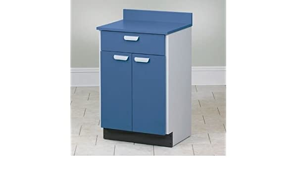 Amazon.com: Preston - Stationary Cabinet with 2 doors and 1 drawer ...