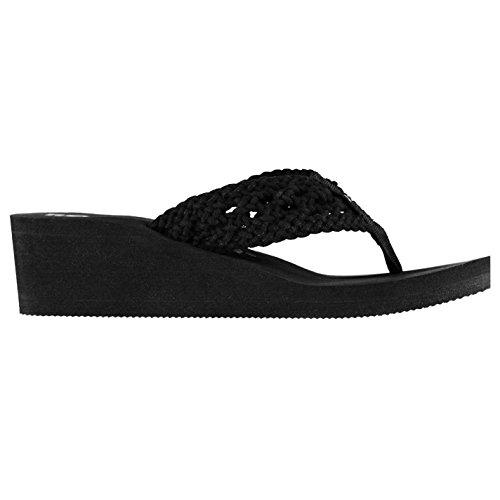 Rocket Dog Mujer Avariast Wedges Botas Zapatos Calzado Casual Exterior Negro 6 (39)