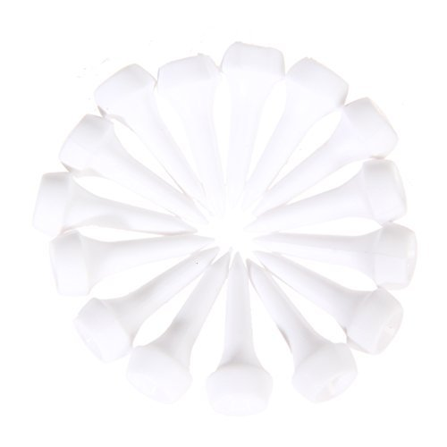50 pcs/lot White Plastic Golf Tees 35mm Durable Rubber Cushion Top Golf Tee Golf Accessories (1 3/8 Inch) - Peoples Mario Sunglasses