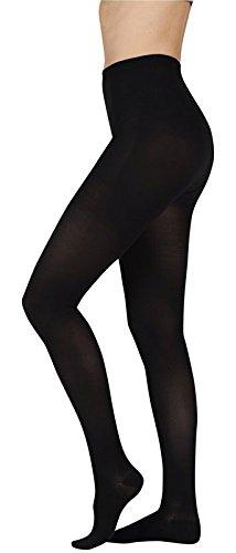 Juzo 2001ATFFOCSH10 III Soft, Pantyhose,Full Foot, Short Open Crotch - Black