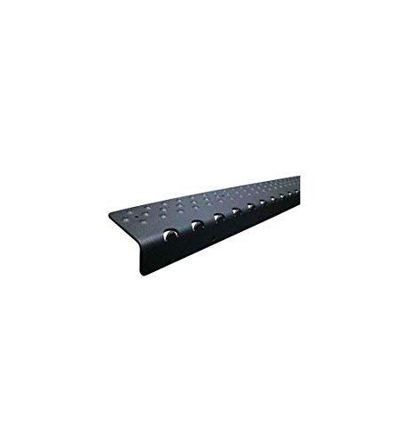 - Handi-Treads Non Slip Aluminum Stair Nosing, Powder Coated Black, 2.75