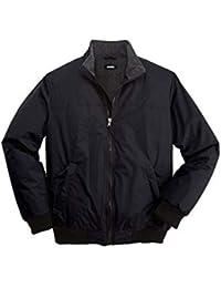 Men's Big & Tall Fleece-Lined Bomber Jacket