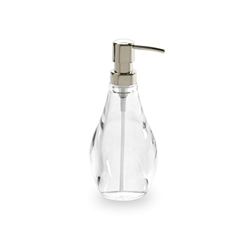 Umbra Droplet Soap Pump, Clear