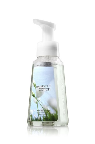 - Bath and Body Works Signature Collection Sea Island Cotton Foaming Hand Soap