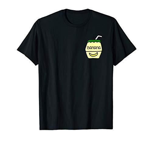 - Cute Banana Milk Bottle Korean Kpop Shirt