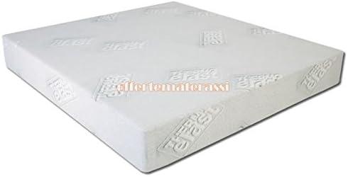 Colchón plaza y media de Memory Foam thermoelast efecto Casa 120 x 190 – 195 – 200 cm