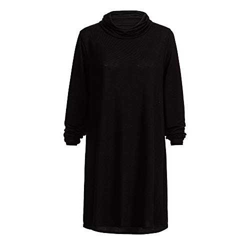 For Fashion Dolcevita Clothing lunghe Party Woman Maglione Long Black Girl Dress Angelof Chic a maniche Fitted UIYqP6