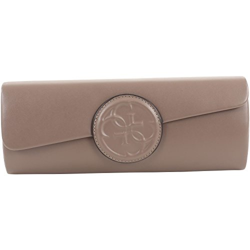Taupe Clutch Amy Femme Cartable Guess pour wXnTpPnq