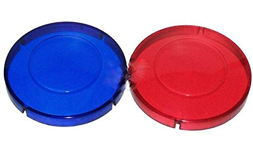 - Hot Tub Classic Parts Marquis Spa Red and Blue Light Lens Covers MRQ740-0060