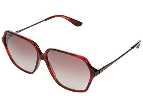 Converse Heritage Women's Play On Sunglasses,Burgundy Frame/Pink Gradient Lens,One - Sunglasses Womens Converse