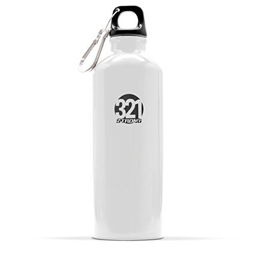 fluid ounce Aluminum Bottle Silver