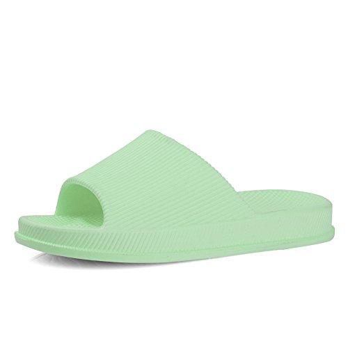 Equick Premium Dames En Heren Badslip Anti-slip Voor Indoor Huis Sandaal 01green