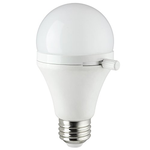 Sunlite ShabBulb, Shabbat Permissible LED Light Bulb, 7 Watt (40 Watt Equivalent) Warm ()