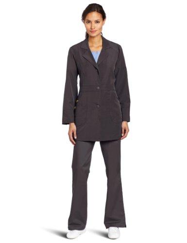 - WonderWink Women's Scrubs Utility Girl Stretch Lab Coat, Graphite, Medium