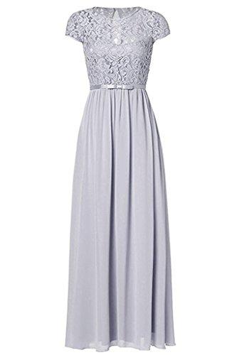 gray cap sleeve dress - 3