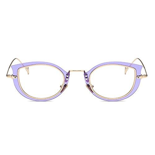 Hommes Femmes Cat Eye Lunettes - Transparents Lunettes Cadre - Mode Lunettes - hibote # 122902 jEOCGw