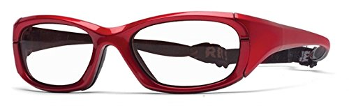 Rec Specs MX-30Protective Eyewear Crimson Frame,Clear Lens, - Liberty Prescription Sunglasses