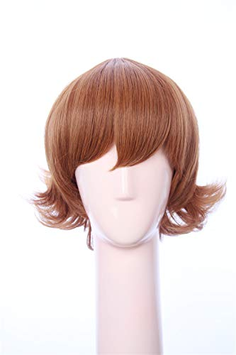 Soul Wigs: Brown Short Flapper Bob Anime Cosplay Pidge Adult Wig Inspired by Voltron