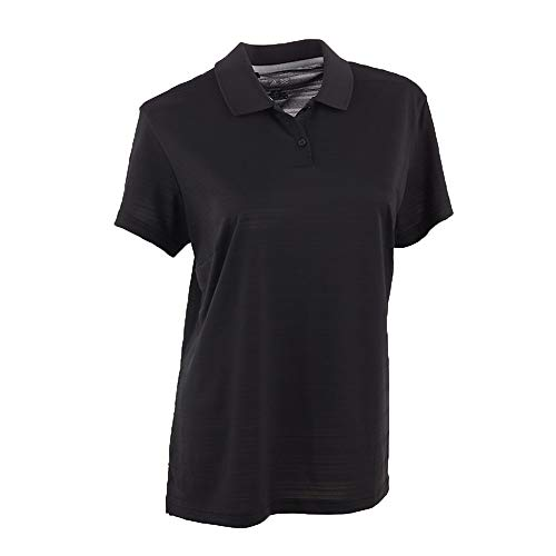 adidas Women's Climalite Textured Short Sleeve Polo from adidas