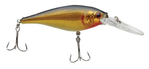 Berkley Frenzy Floating Flicker Shad 7cm, Black Gold (Frenzy Floating)