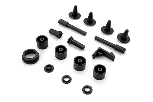 (Hudy Composite Chassis Bracket Post & Part Set)