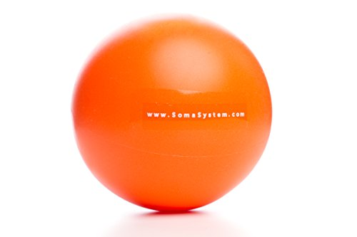 Soma System Inflatable Massage Therapy Ball for Deep Tissue Massage and Self-Myofascial Release (Inflatable Paper Ball)