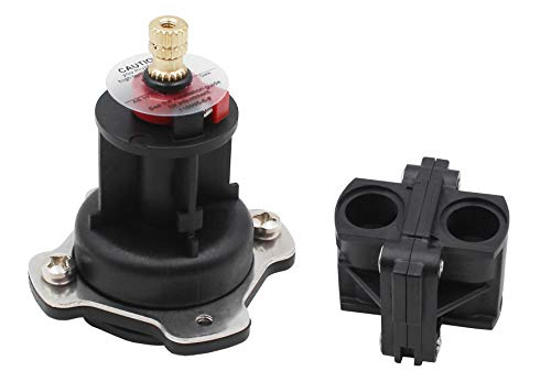 (Pressure balancing unit (shower) parts cartridge and cap replace for Kohler model# GP76851,includes the replacement of GP500520 and GP77759 parts compatible for Rite-Temp valves and 1/2