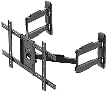 Monoprice Cornerstone Series Full-Motion Articulating TV Wall Mount Bracket – for TVs 37in to 70in Max Weight 99lbs VESA Patterns Up to 600×400 Rotating