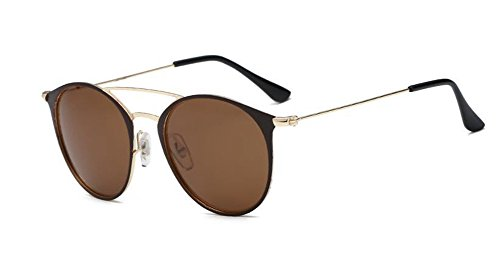 de en style rond métallique inspirées polarisées vintage lunettes cercle retro D soleil du Lennon 6x4qCB1
