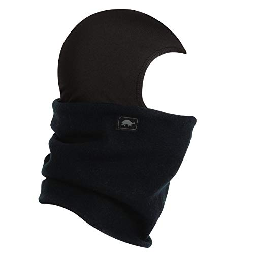 Turtle Fur Shellaclava Fleece Balaclava, Black, One Size (Turtle Fur Frost Mask)